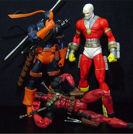 Group Of Deadpool Deathstroke Deadshot
