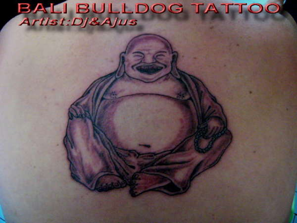 Fat buddha tattoos tattoos facebook for Happy buddha tattoo