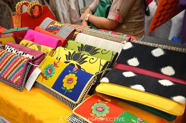 Some vibrant accessories