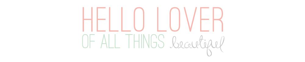 Hello Lover...
