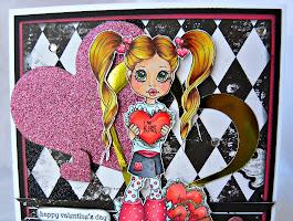 Valentine Kisses Coloring Pages