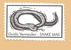 Guido's snake mail artistamp