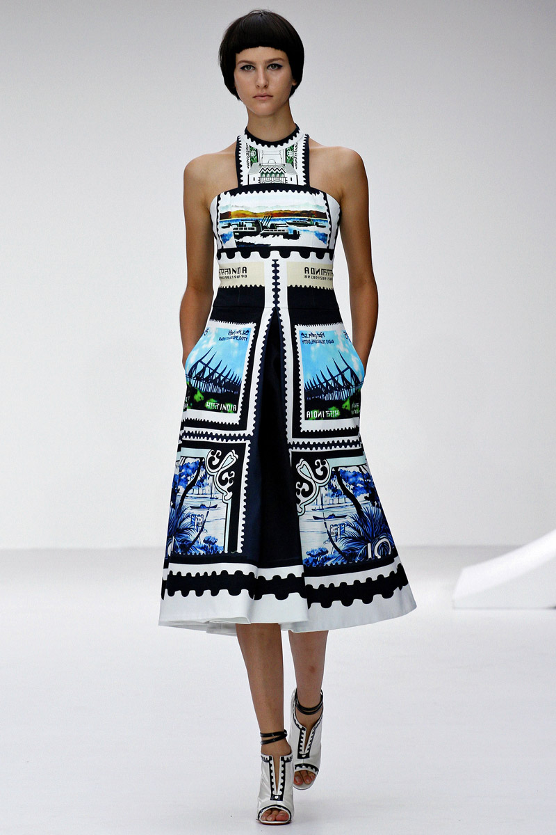 London Fashion Week - Mary Katrantzou