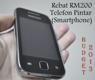 Senarai Model Telefon Yang Mendapat Rebat RM200 Telefon Pintar Belia