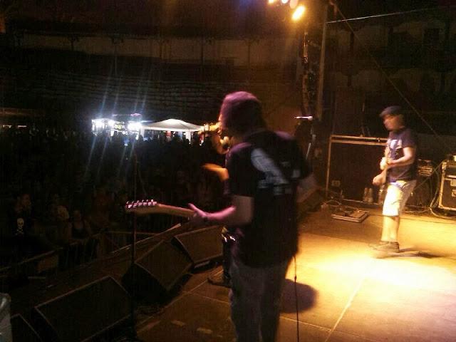 escenario en el V Abejarock