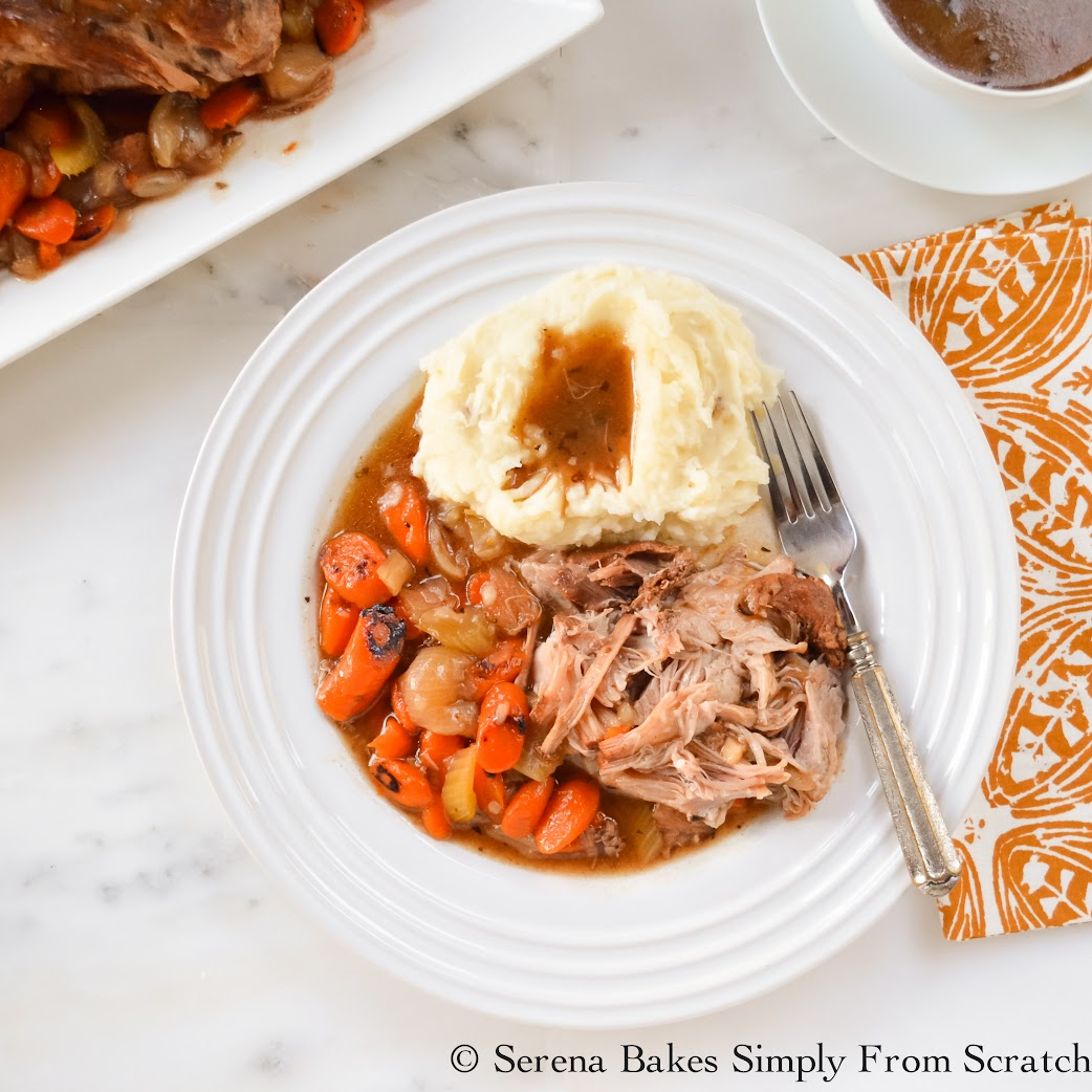 Tender Balsamic Pork Pot Roast