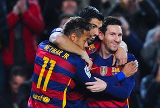 Barcelona 7-1 Valencia. Messy, Neymar, Suarez, Copa Del Rey