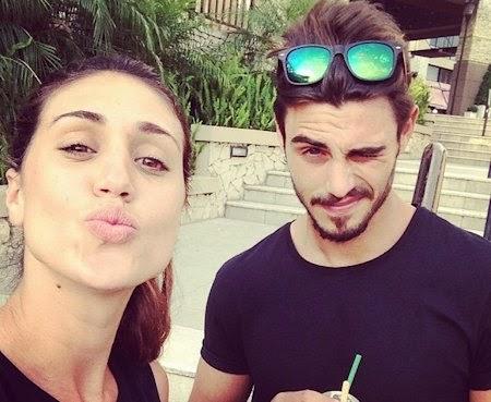 Francesco Monte e Cecilia Rodriguez foto