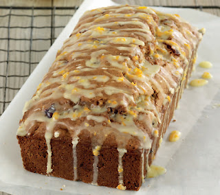 Pecan and Cranberry Loaf Cake
