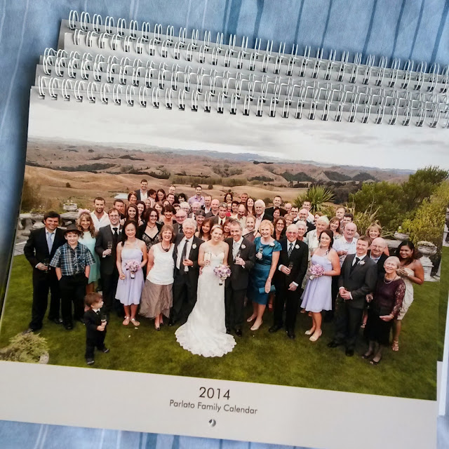 2014 family calendars - great Christmas pressies!