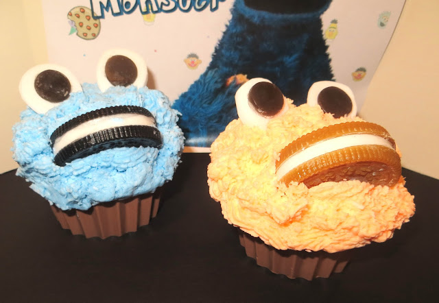 Cookie Monster Cupcake Soaps