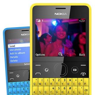 Nokia Asha 210 Ponsel Murah QWERTY