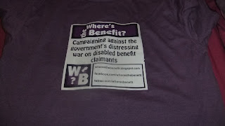Front of WtB T-shirt