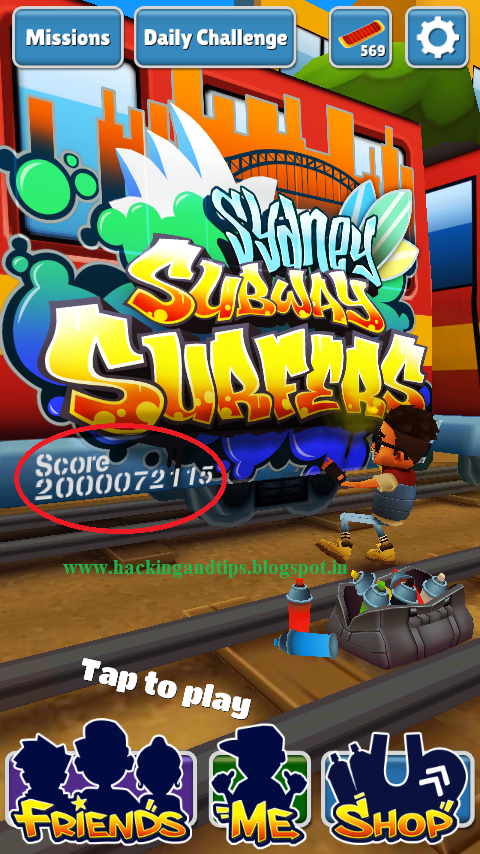Subway Surfers Hack - Android Cheats Unlimited Coins | Any Version | No Root Required