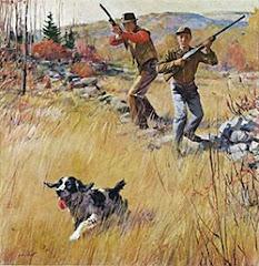 Gone huntin'...