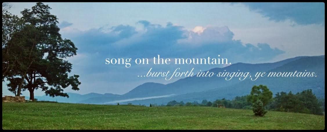 song on the mountain