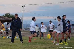 Giannantonio dictó una clínica sobre kicks en Salta