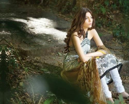 Sana Safinaz Lawn 2014
