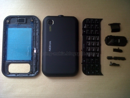 Casing Nokia 6760 SLIDE Fullset Original 99%