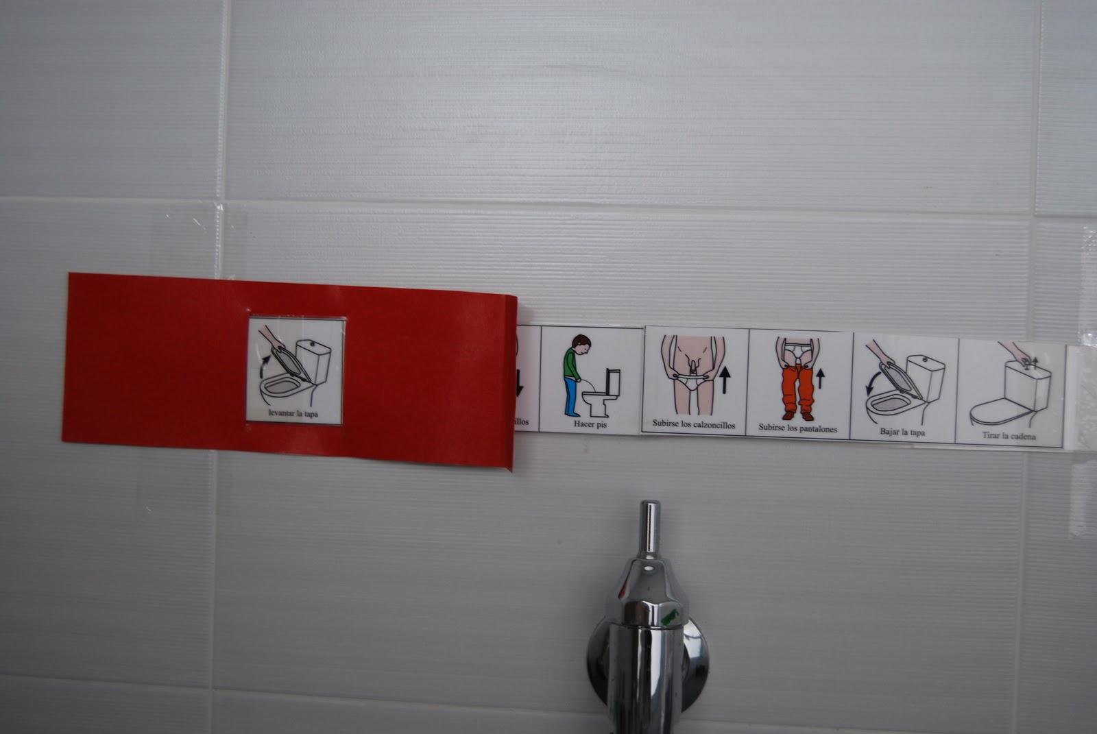 El ba l de a l secuencia de pictogramas para ir hacer pis - Que hacer para ir al bano ...