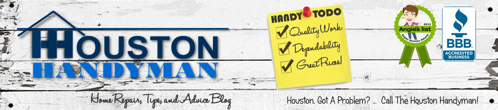 Houston Handyman Blog