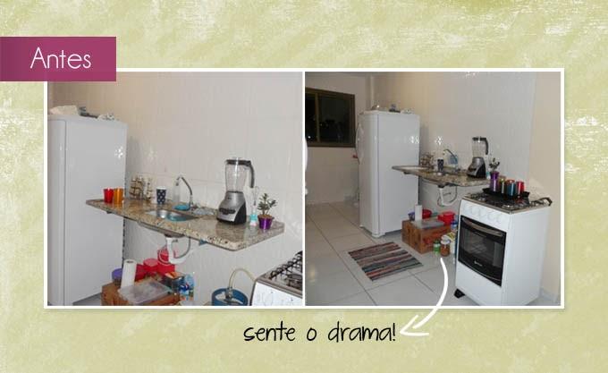 Apartamento 304: Pia sem armário... comofas?