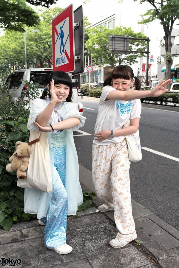 kawaii pajama trend