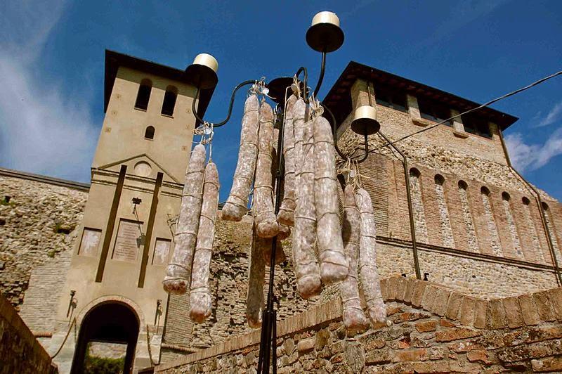 итальянский музей салями