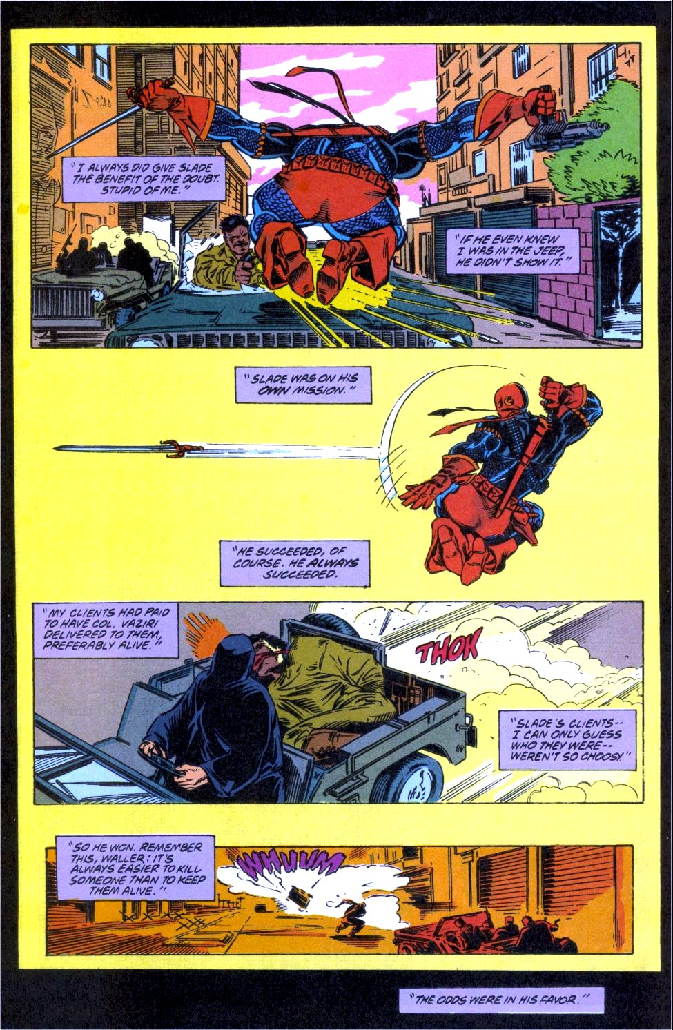 Deathstroke (1991) Issue #12 #17 - English 7