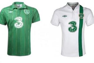 Kostum Republik Irlandia Euro 2012