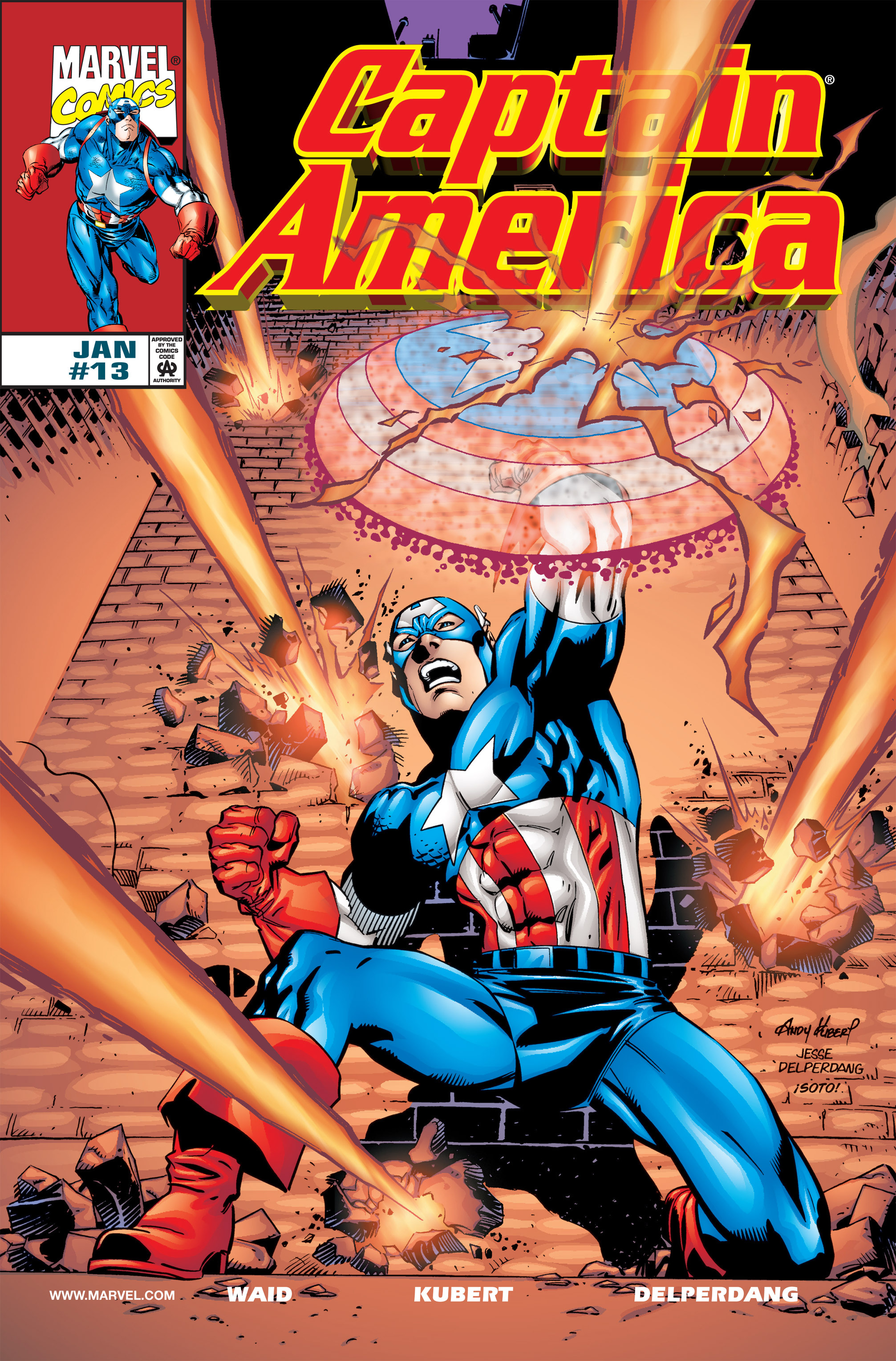 Captain America (1998) Issue #13 #19 - English 1