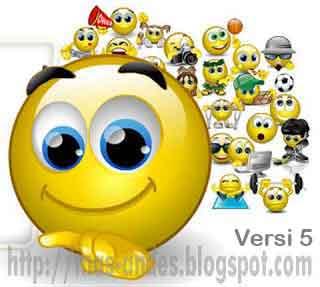 Kumpulan Kode Chat Emoticon Facebook Keren Versi 5