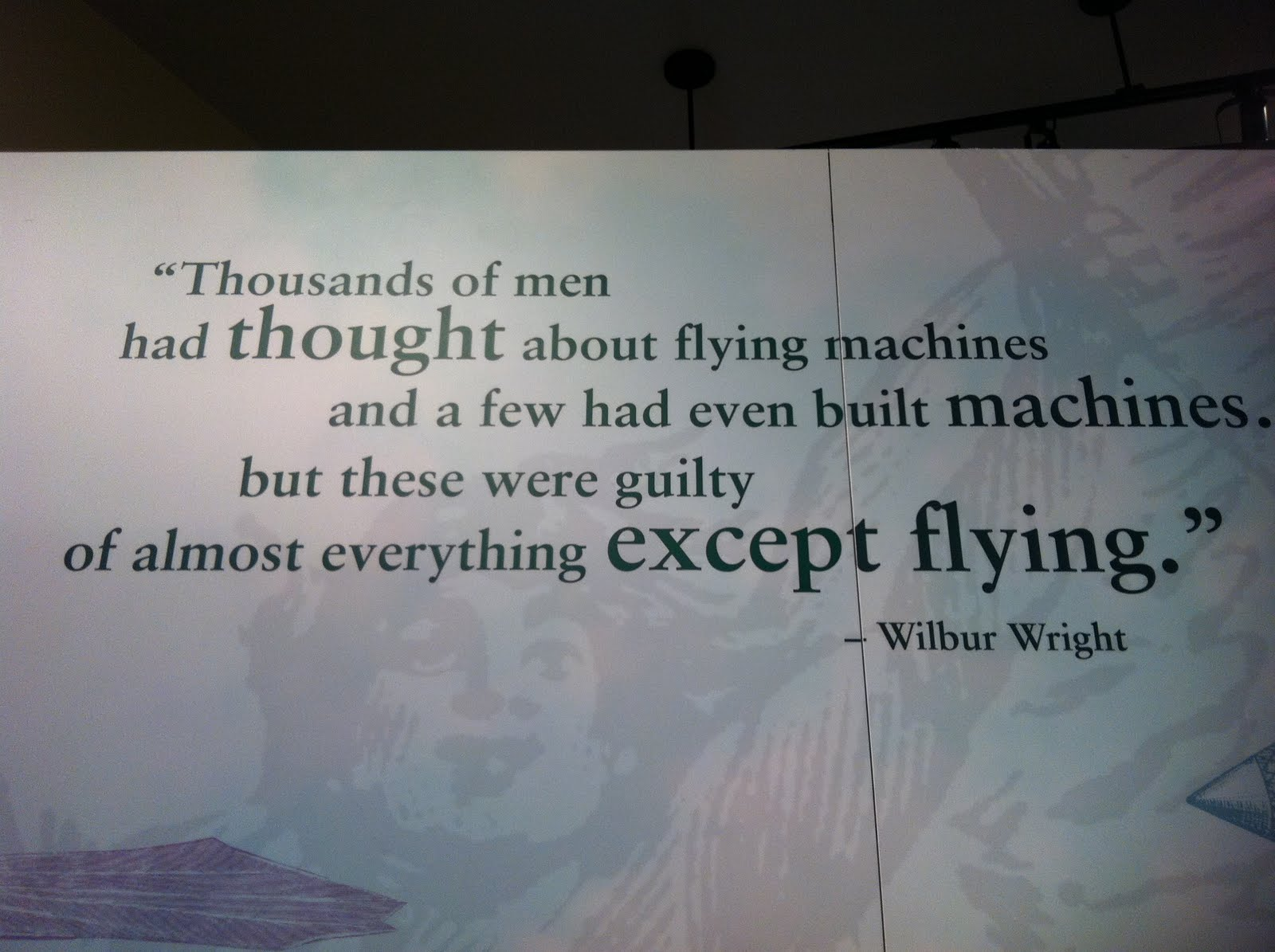 The Wright Brothers Quotes Michelle Martine Merrill's Picture Of The Day Wright Brothers