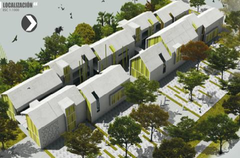Kennedy construcci n de la primera etapa del jardin for Jardin kennedy brest