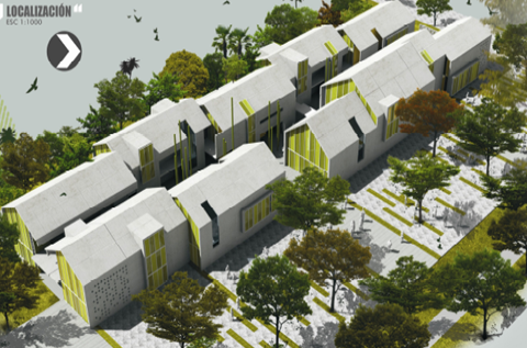 Kennedy construcci n de la primera etapa del jardin for Jardin kennedy