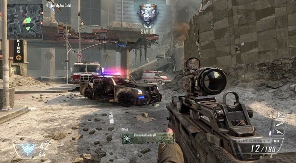 High Graphics Games Call Of Duty Black Ops 2