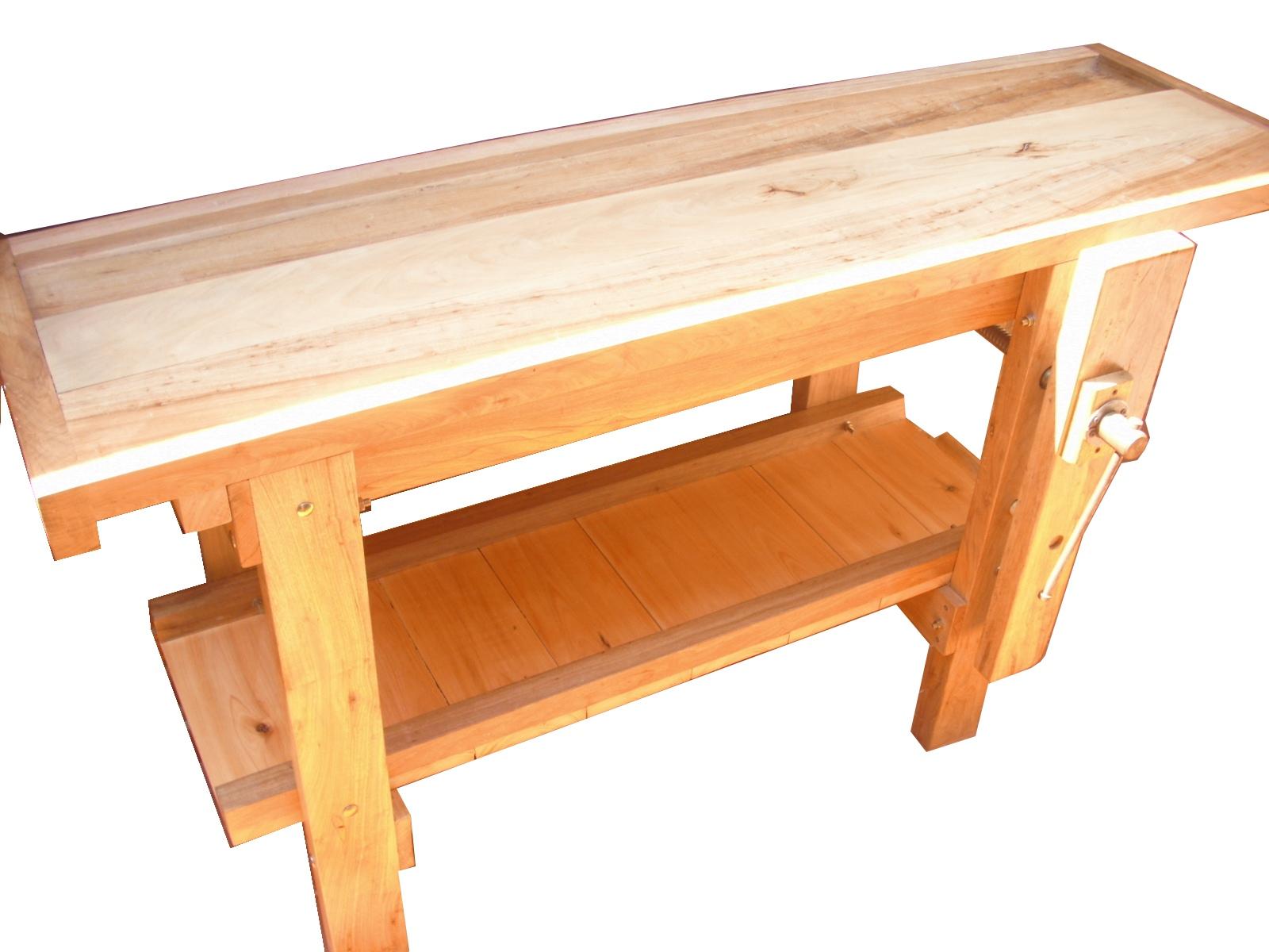Banco de carpintero en madera dura carpinterof - Carpintero de madera ...