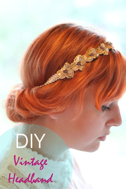 Vintage Headband Tutorial
