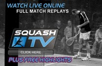 LIVE ACTIONS AND REPLAYS ON PSA SQUASH TV!