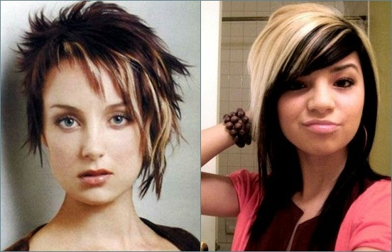 Model Gaya Rambut Emo Untuk Wanita Rambut Info - Gaya rambut pendek emo