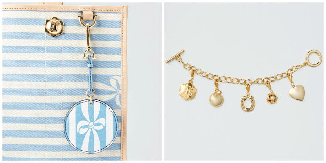 draper james lucky you sale 75 off key fob horseshoe charm bracelet sale