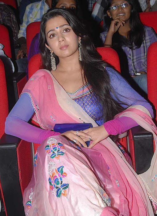 charmi at businessman audio launch, charmi new hot images