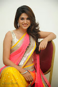 Shraddha das photos in Saree at Rey audio launch-thumbnail-14