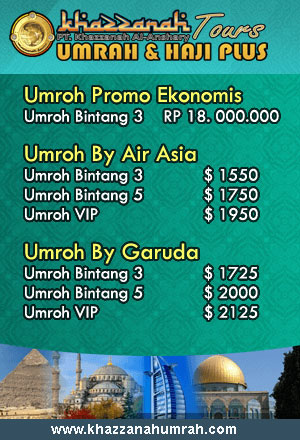aket Umroh 2016 Khazzanah Tour
