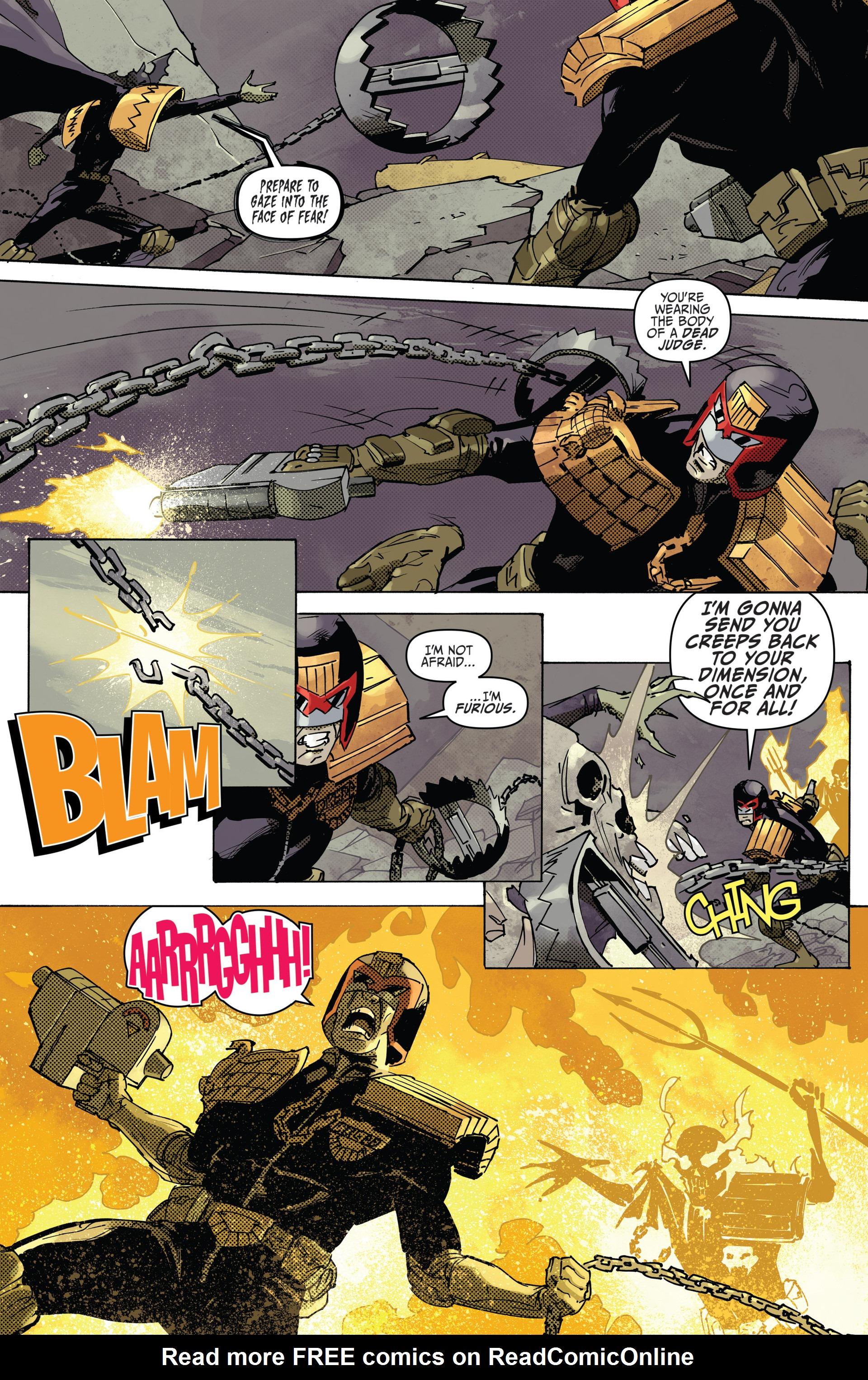 Read online Judge Dredd (2012) comic -  Issue #22 - 10