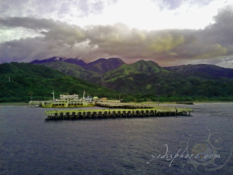 Photo of Abra de Ilog Pier in Occidental Mindoro Philippines