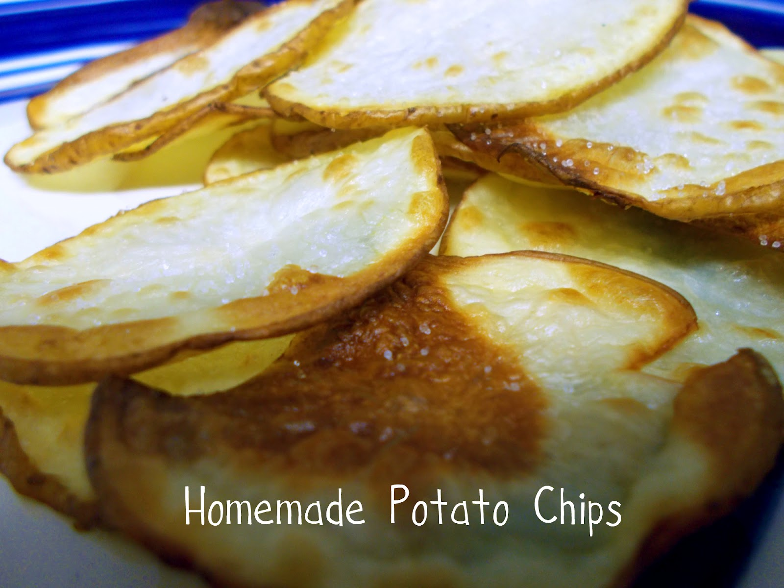 real world plans: Homemade Potato Chips
