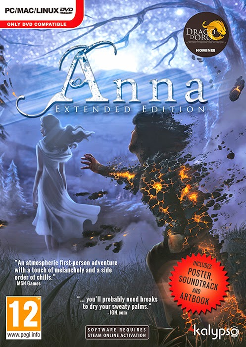 Anna Extended Edition, PC game
