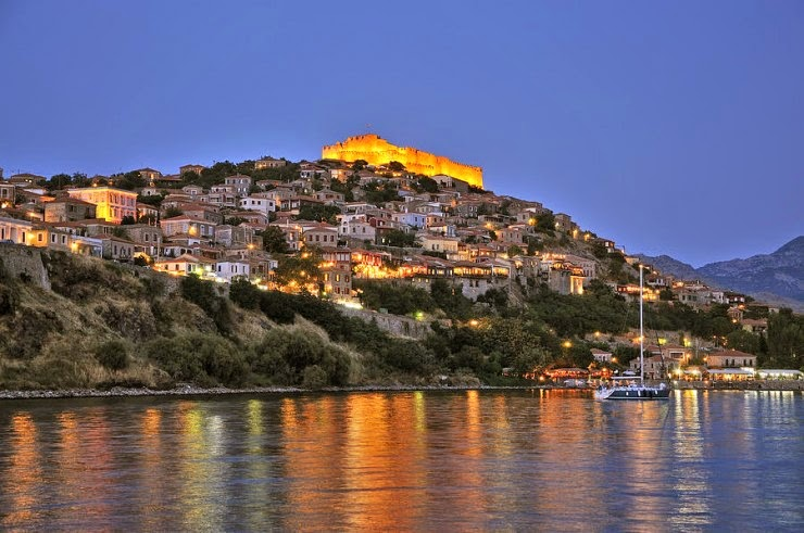 Molyvos – a Tourist Capital of Historic Island of Lesbos, Hellas (Greece)