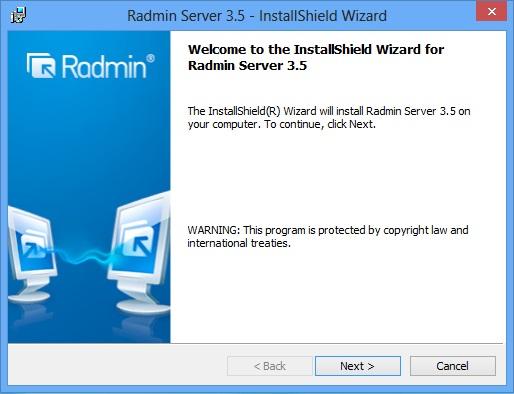 Remote Administrator Radmin 2.2 Скачать